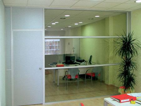 Divisiones de oficina divisiones de aluminio for Divisiones oficinas modernas