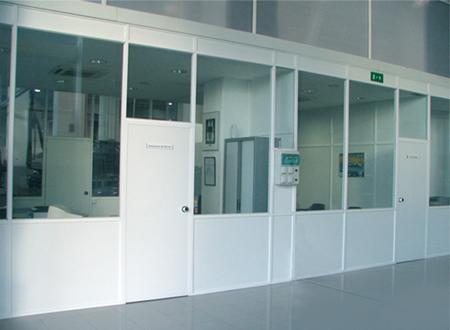 Divisiones de oficina divisiones de aluminio for Divisiones de oficina